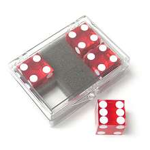 Dice 4-pack Red