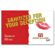 Sanitized For Your Deception by Jonathan Levit