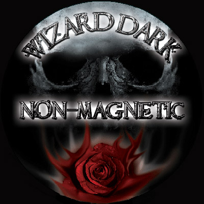 Wizard DarK FLAT Band Non-Magnetic Ring