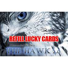REFILL-for-Hawk-2.0-2-Lucky-Cards-ONLY*