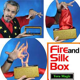 Fire and Silk Box - Tora Magic