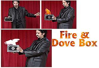 Fire And Dove Box - Tora