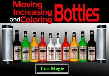 Moving, Increasing and Coloring Bottles - Tora Magic