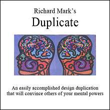 Duplicate by Richard Mark