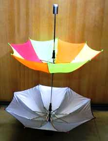 Cane-To-Twin-Parasols