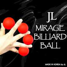 Mirage Billiard Balls