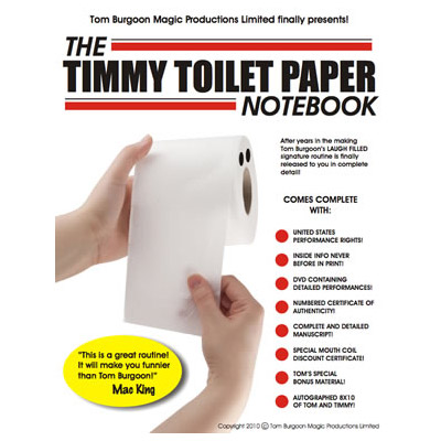 Timmy Toilet Paper Notebook