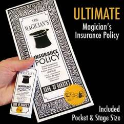 Ultimate Magicians Insurance Policy