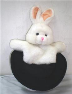 Rabbit-In-Hat-Puppet