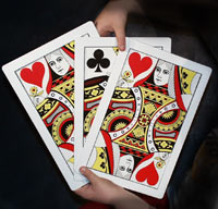 Giant 3 Card Monte - Joker Magic