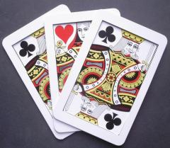 Jumbo Three Card Monte - Joker Magic