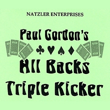 All Backs Triple Kicker by Paul Gordon*