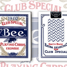 Erdnase 1902 Bee Playing Cards - Blue