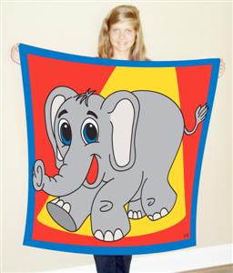 Elephant Production Silk 45 inch