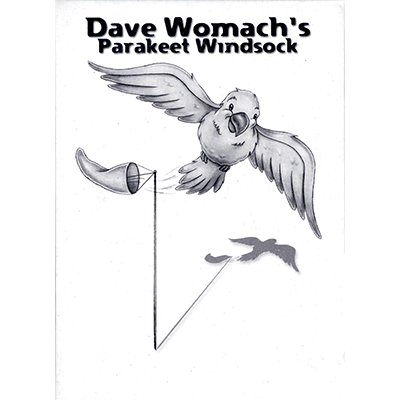 Parakeet Windsock by Dave Womach