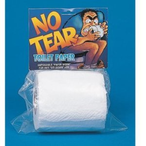 No Tear Toilet Paper