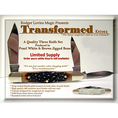 Transformed Knives by Rodger Lovins - Trick