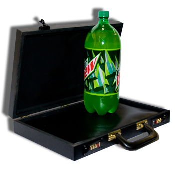 Soda-Bottle-From-Briefcase