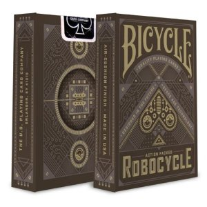 Robocycle Playing Cards - Brown