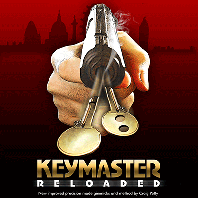 Keymaster Reloaded by Craig Petty and Wizard FX Productions - DVD