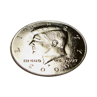Kennedy-Palming-Coin-Half-Dollar-Sized