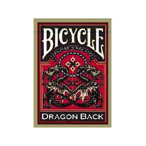 Bicycle Dragon Deck - Gold