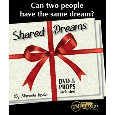 Shared Dreams (DVD and Props) by Marcelo Insula and Tango Magic