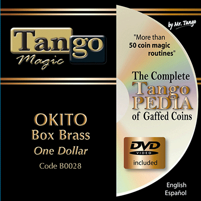Okito Coin Box - Dollar Size by Tango Magic