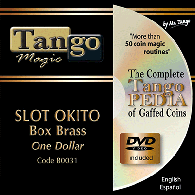 Slot Okito Coin Box - Dollar Size by Tango Magic