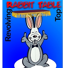 Revolving Top Rabbit Table