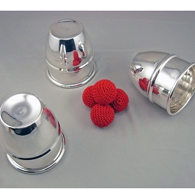 Triple Combo Sterling Silver Cup & Balls
