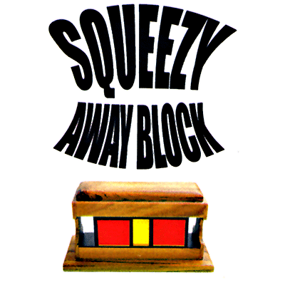 Squeeze Away Block  by Vincenzo DiFatta