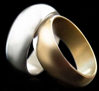 Wizard PK Ring G2 (CURVED, GOLD) by World Magic Shop