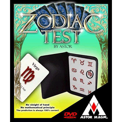 Zodiac Test by Astor