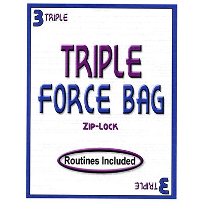 Triple Force ZIP LOCK Bag