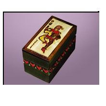 Card Box Holder with Joker design