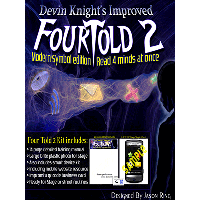Mind Reading Four Told 2: Modern Symbol Edition by Devin Knight