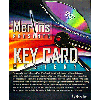 Key Card Mystery by Merlins