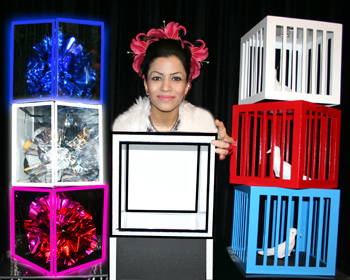 Crystal Cubes/ Dove Cages from Box - Tora