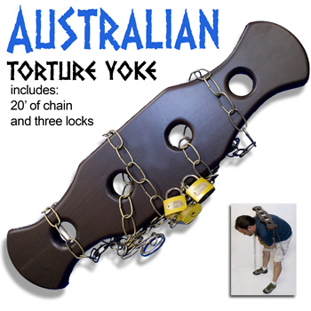 Australian Torture Yoke - The Magic Warehouse