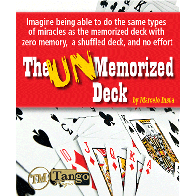 Unmemorized Deck by Marcelo Insua