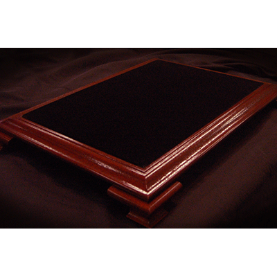 Elite-Table-Mahogany-with-Black-Velvet-by-Subdivided-Studios