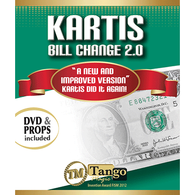 Kartis Bill Change 2.0 by Kartis and Tango Magic