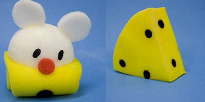 Sponge Mouse to Swiss Cheese