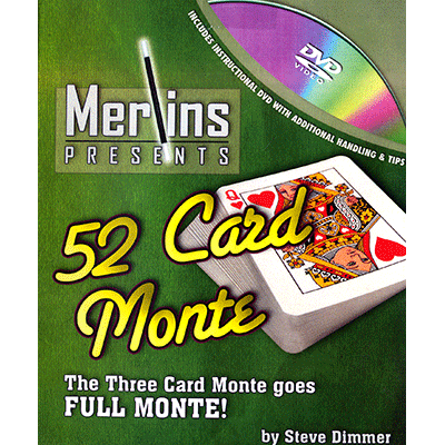 52 Card Monte by Merlins
