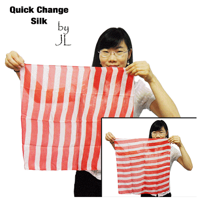 Quick Change Silk by JL Magic