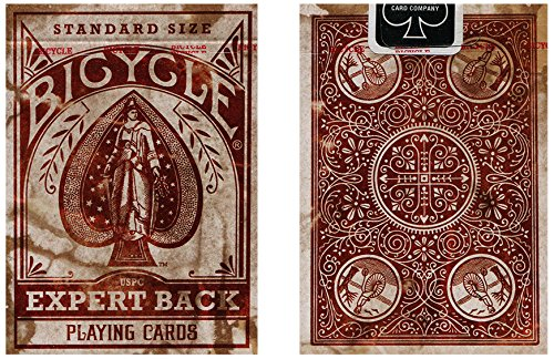 Bicycle Distressed Expert Back Playing Cards