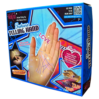 Wishcraft Fortune telling Hand (Rapping Hand and Board)by Fantasma Magic