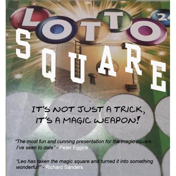 Lotto Square by Leo Smetsers
