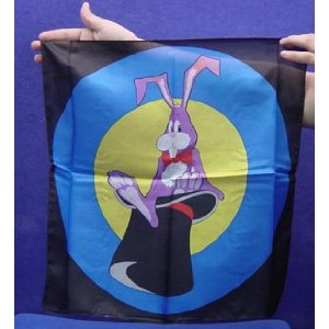 Rabbit In Hat Silk - 18 inch